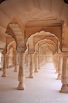 Indian architecture. Although this is not practical for a seat down event for the line of sight but this architecture can inspire for future events within the Indian culture