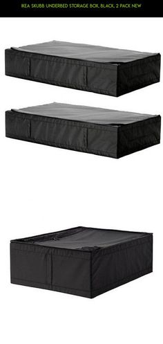Ikea Skubb Underbed Storage Box, Black, 2 Pack New #2 #parts #tech #drone #racing #shopping #storage #camera #plans #box #products #kit #fpv #technology #gadgets