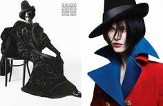 """Grand Chic"" : Aymeline Valade : Vogue Italia July 2012 : Sølve Sundsbø"