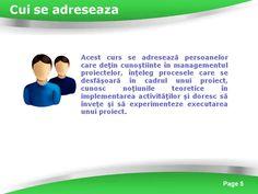 Profil participanti curs management
