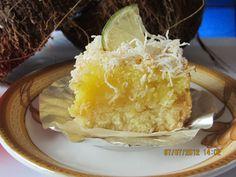 Coconut Lime Square