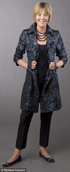 hate outfit as a whole, but like the slacks - length, cut.