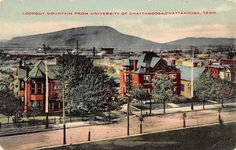 University of Chattanooga, Tennessee Antique Postcard (T3199)