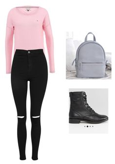 """#tommy hilfiger #bershka #asos"" by iswagperm on Polyvore featuring мода и Topshop"