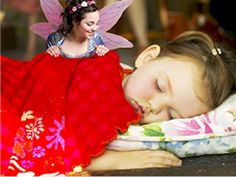 Tooth Fairy Ideas: Upload a pic of sleeping child to icaughtthetoothfairy.com