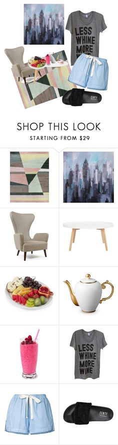 """""""Morning"""" by michellesfashioncompany ❤ liked on Polyvore featuring L'Objet, Bassike and Puma"""