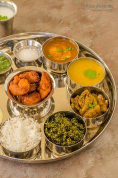 Maharashtrian Thali – Meal from Indian State of Maharashtra