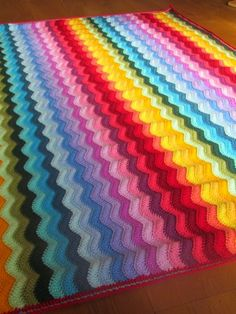 Colour Crochet Love: May 2015 Ripple design color way