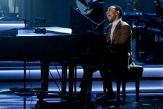 "Stevie Wonder: Songs In The Key Of Life  - John Legend performs ""I Believe *When I Fall In Love It Will Be Forever)"" at the taping for ""Stevie Wonder: Songs In The Key Of Life — An All-Star GRAMMY Salute"" on Feb. 10 in Los Angeles"
