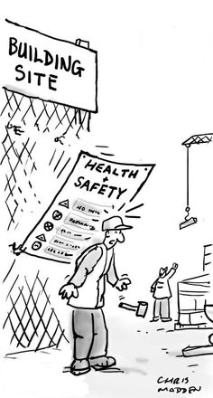 Workplace Safety cartoons, Workplace Safety cartoon, funny