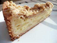 Mini Matriarchin: Puddingbrumsels Apfelkuchen (mit Streuseln)