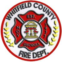 Whitfield County Fire Department Patch