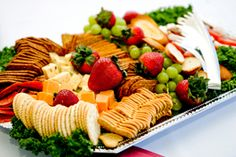 Party Platter Planning | Stretcher.com - How to figure out how much food you need to feed your guests with buffet platters.