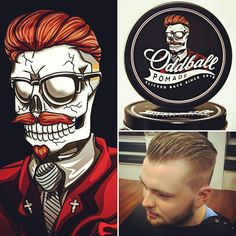 Oddball Pomade is just starting to take off. Become part of the experience!  Purchase Oddball Pomade here:  http://ift.tt/1SngSfy  #pomade #pomp #slickedback #oddball #oddballpomade #johnnyroger #beardedvillains #beardsofinstagram #beard #barber #barbershop #barbershopconnect #buylocal #baycityscene #hair #haircut #haircare #peppermint #new #local by oddballpomade