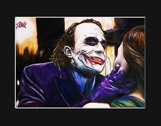 The joker-knife #scene #limited #(36/50) art work. a3 mounted print. ,  View more on the LINK: 	http://www.zeppy.io/product/gb/2/291371545052/