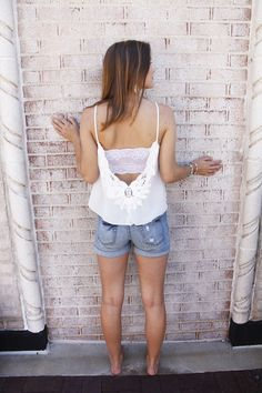 fortuityinc - Sweet Surprise Top • Ivory, $24.00