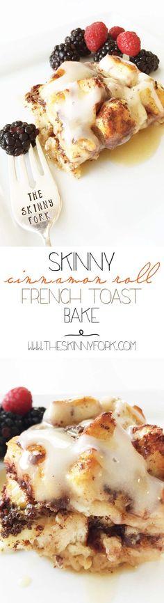 Skinny Cinnamon Roll