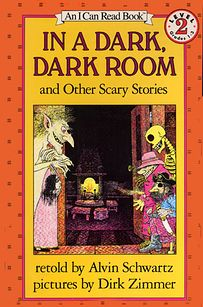 YES TO THIS ONE. YES.  The Green Ribbon from In a Dark, Dark Room by Alvin Schwartz | 14 Books That Traumatized You As A Kid