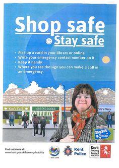 We're promoting the #ShopSafeStaySafe campaign! http://www.kent.gov.uk/learningdisability … #Maidstone #Kent #learningdisability