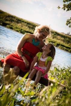 BuckShots Photography Family Mother daughter Water Outdoor