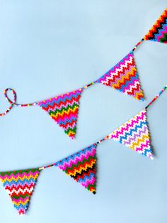 Make a Perler garland for your next party.