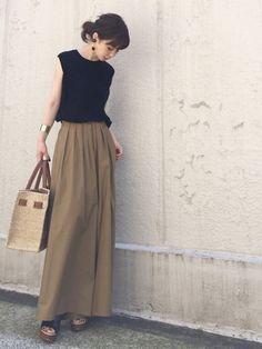 Pin on ファッション Japan Fashion, Love Fashion, Fashion Outfits, Womens Fashion, Smart Casual Wear, Casual Chic, Moda Petite, Japanese Street Fashion, Petite Fashion