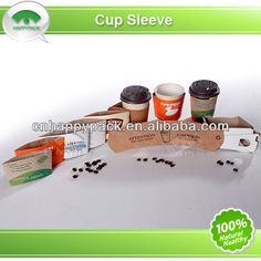 Happypack Paper coffee cup sleeve $0.01~$0.03