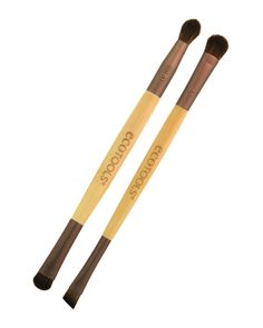 Best for...applying eye makeup. Yes, I love my Sigma brushes but Ecotools are much easier on the wallet. These two brushes are my go-to for everyday eye shadow and liner. The flat, angled definer is great for tightlining.  Eye Enhancing Duo Set | EcoTools