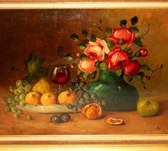 still life oil painting - Pesquisa Google