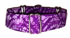Dog Collar  Adjustable Martingale  1.5  Large by SEWANNE on Etsy, $15.00