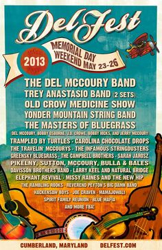 #DelFest - 2013. What a lineup!