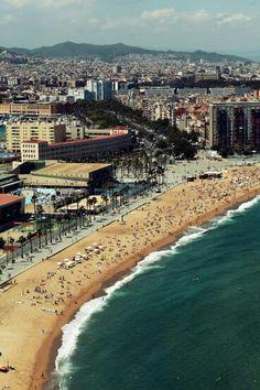 BCN  Playa de La Barceloneta <3