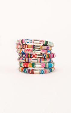 gotta catch 'em all > barranco bracelet // Pamela V. #planetblue #whatsnew
