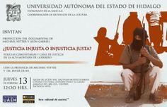 Proyecta UAEH documental sobre fenómeno de las policías comunitarias en México