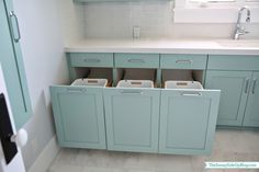 Sunny Side Up: Upstairs Laundry Room dream laundry rooms