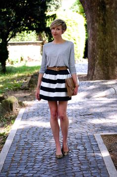 Stripes & Animalier | Coffee Blooms