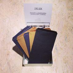 NYTT I BUTIKEN  iPhone 5 fodral i läder för bara 190 SEK! Handgjorda i b88fc522ee607