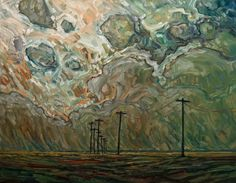 Land Lines, Steve Coffey. Canadian      (Source: White Rock Gallery )