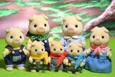 Les GRUNT, famille de cochons
