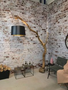 Floor lamp, Arc lamp of old oak branch and lampshade in model and color of your choice. Floor lamp Arc lamp of old oak branch and lampshade in model Arc Lamp, Arc Floor Lamps, Diy Floor Lamp, Best Floor Lamps, Floor Lamp Makeover, Natural Lamps, Diy Home Decor, Room Decor, Pub Decor
