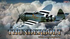 War Thunder Gameplay [Ep.135]: THUNDERBOLT with ShyGuy204