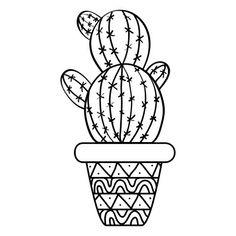 20 Mejores Imágenes De Cactus Para Colorear En 2019 Pintura Sobre