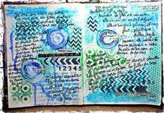 Art Journal Café: Challenge: musique! / music!