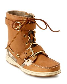 """Sperry Top-Sider """"Huntley"""" Leather Boot is on Rue. Shop it now."""