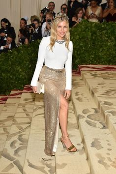 Theme: Heavenly Bodies: Fashion and the Catholic Imagination Met Gala 2017 can be found here Met Gala 2016 can be found here Met Gala 2015 can be found here Met Gala 2014 can be found here Lace Skirt, Sequin Skirt, Met Gala Red Carpet, Sienna Miller, Skirts, Pictures, Fashion, Celebs, Photos
