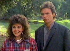MacGyver & Penny Parker | There expressions in this picture pretty much sum up their entire relationship... XD