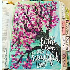 Bible Journaling by Christina Lowery @christinasalive | 1 Chronicles 1-3