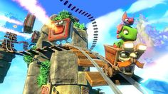 Colorful Platformer Yooka-Laylee Launches April 11 2017 on PS4 #Playstation4 #PS4 #Sony #videogames #playstation #gamer #games #gaming