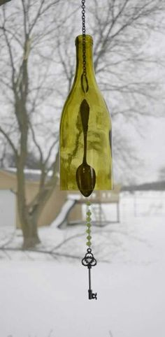 UpCycled Wind Chime.. .