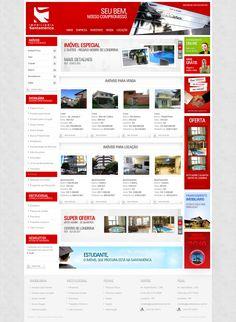A Agência Codare foi responsável pela criação do design do novo site da Imobiliária Santamérica.